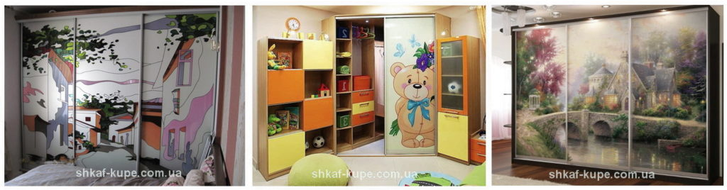 шкаф купе в детскую на заказ