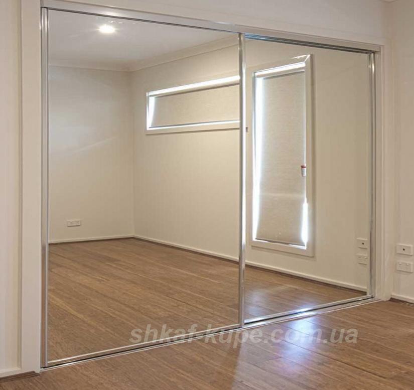 шкаф на заказ с зеркалами