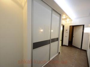 Шкафы-купе в коридор на заказ Киев