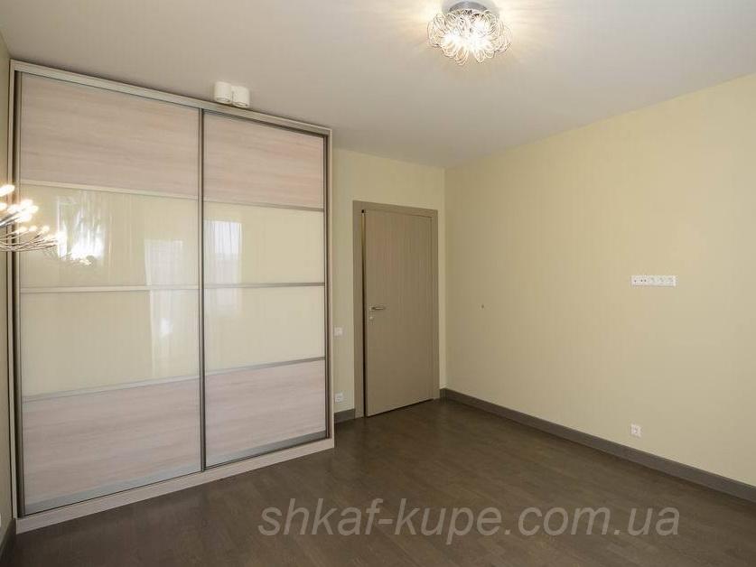 белый Шкаф-купе для спальни на заказ две двери под заказ