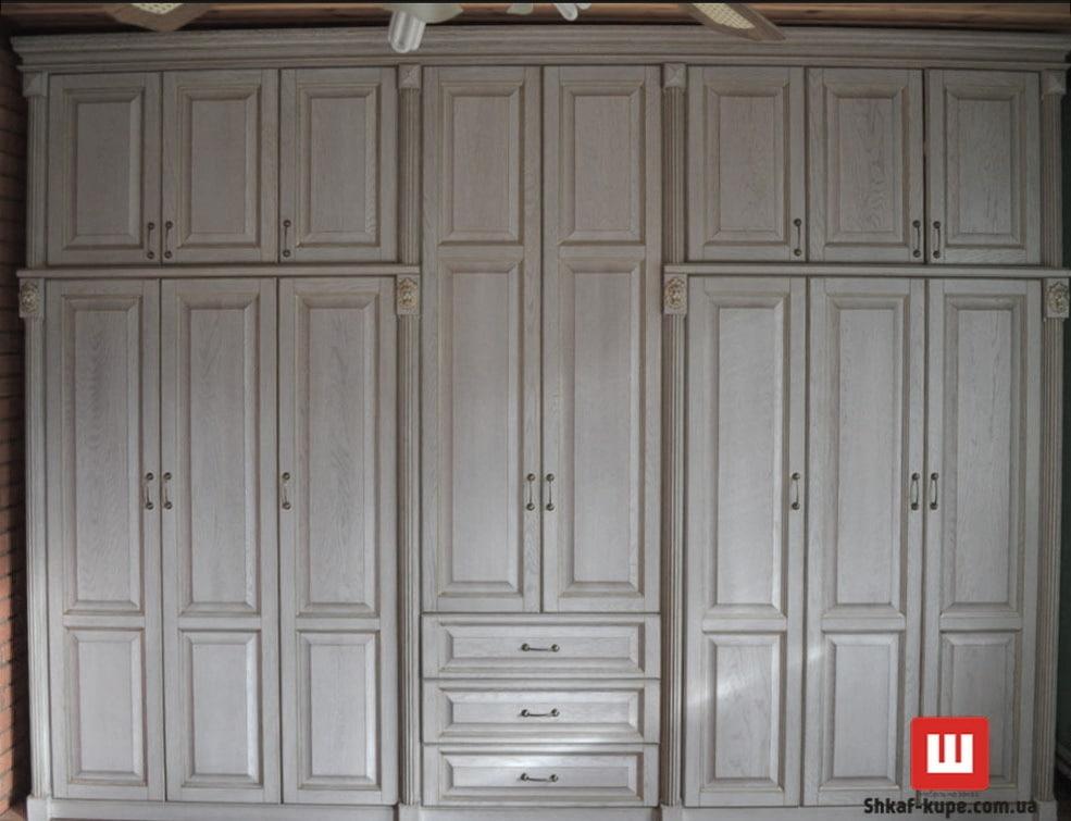 деревянный шкаф для спальни
