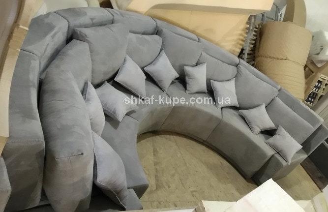 круглая мягкая мебель на заказ в Киеве