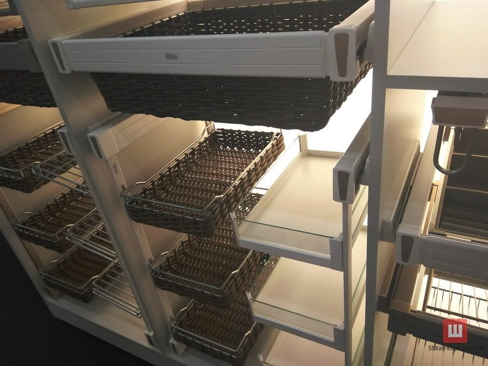 ящики и органайзеры для мебели