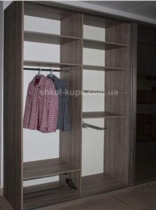 двух дверный шкаф в коридор на заказ