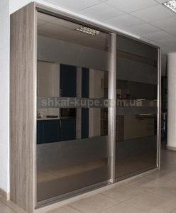 двух дверный шкаф-купе в коридор