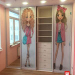 шкаф-кпе для девочек