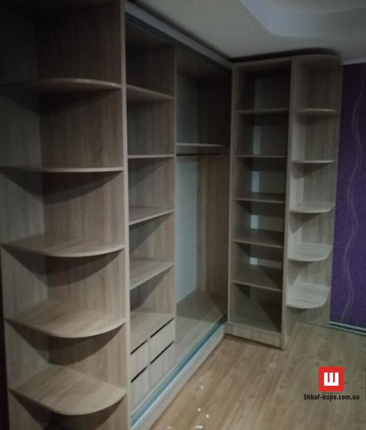 шкаф угловой в коридор под заказ