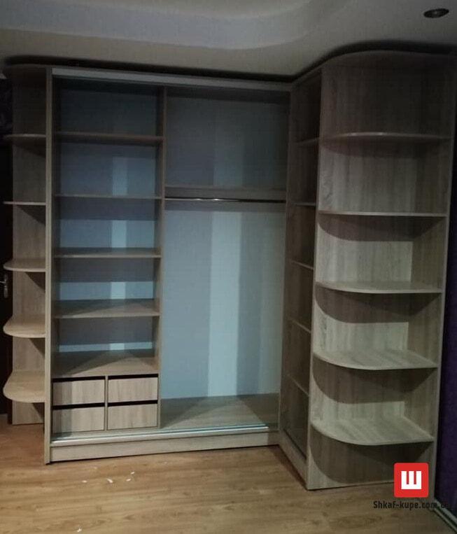 изготовление угловых шкафов-купе на заказ