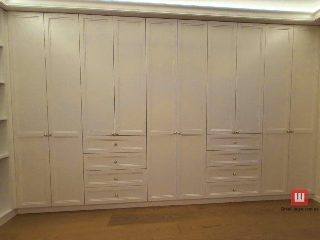 большой шкаф встроенный