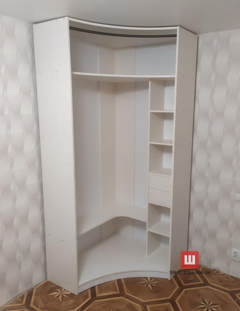 как сделать радиусный шкаф