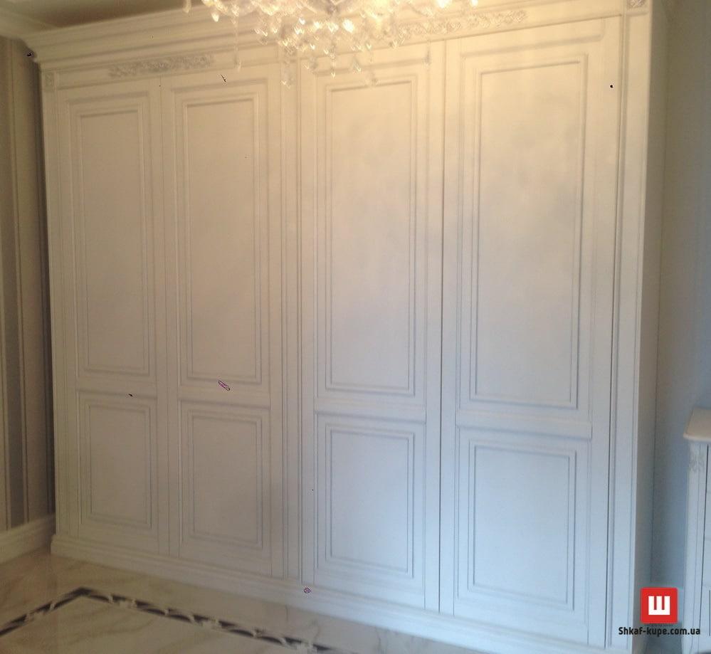 деревянный шкаф в спальню под заказ