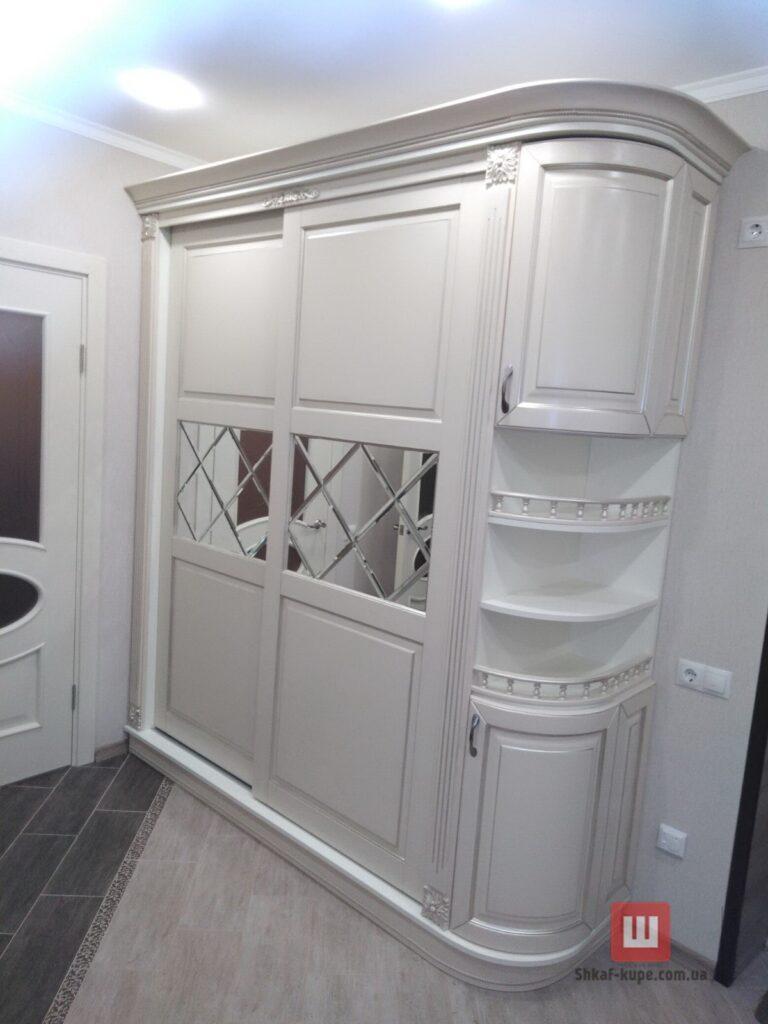 двух дверный шкаф из массива дуба