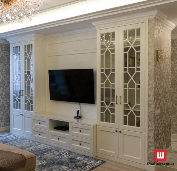 мебельная стенка под телевизор фото