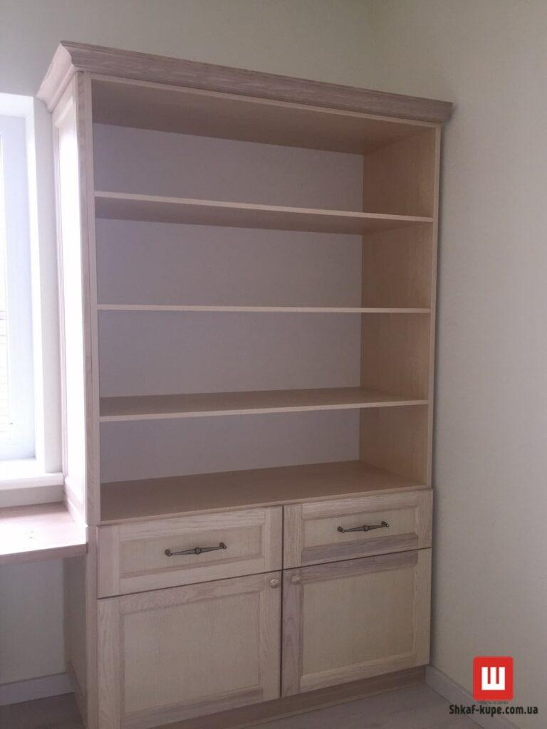 встроенный шкаф книжный