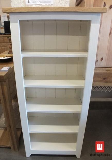 Шкаф из ясеня для книг