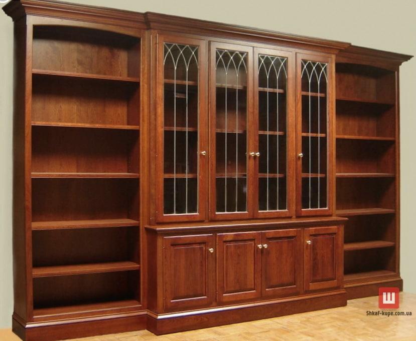 дубоый книжный шкаф
