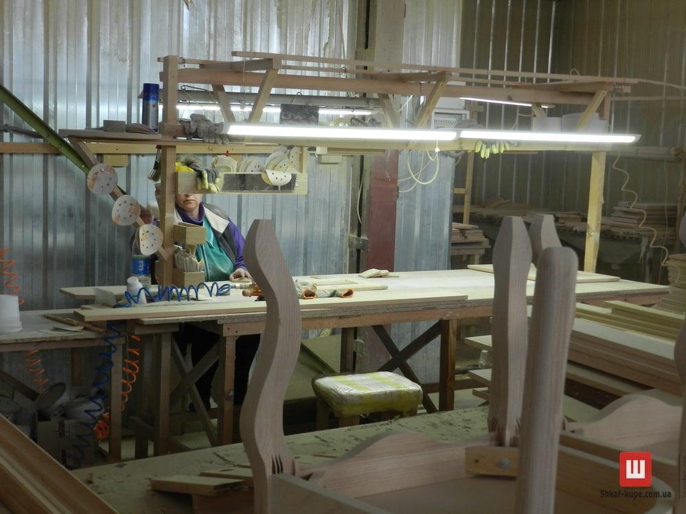 производство Тумб  из массива дуба