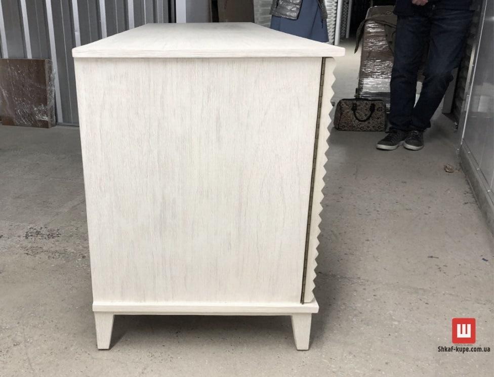 деревянная Тумба прикроватная белая