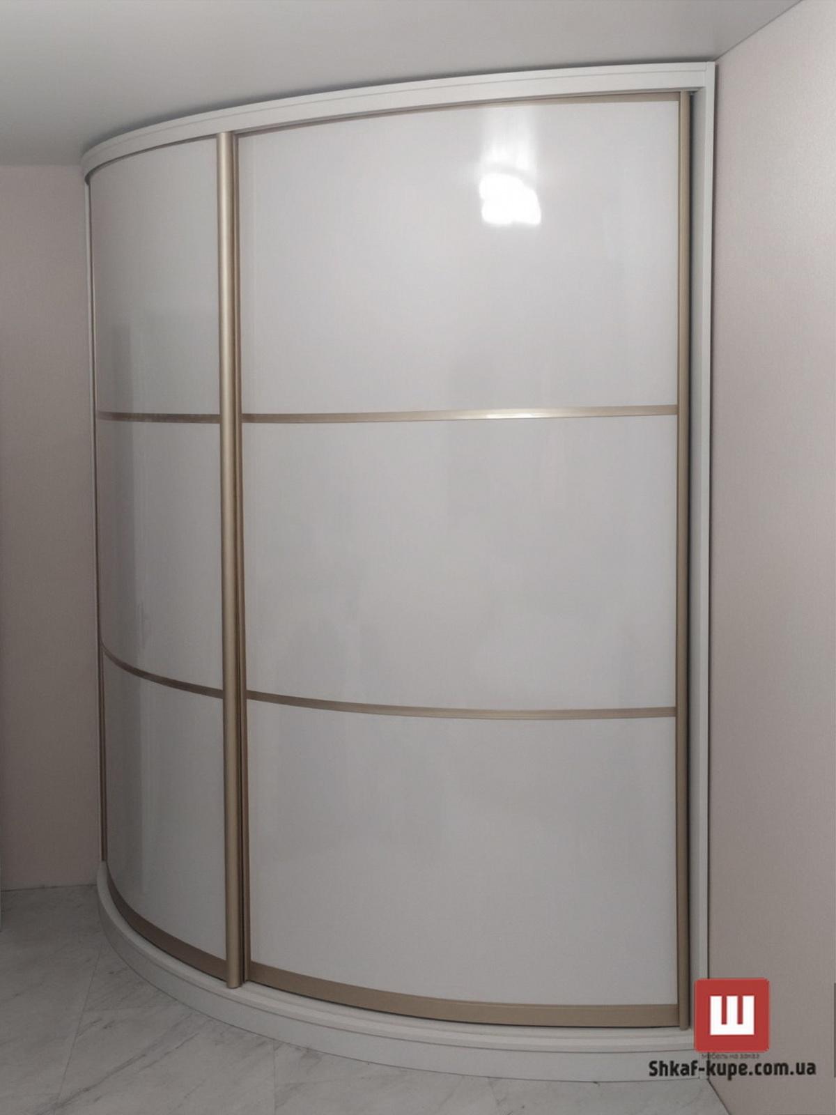 офисный радиусный шкаф