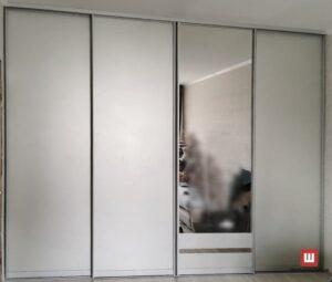 четырех дверный шкаф купе на заказ  Новые Петровцы