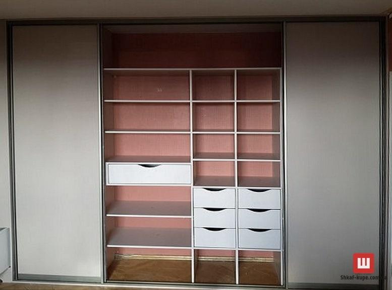 шкаф с раздвижными дверями на заказ в Борисполе